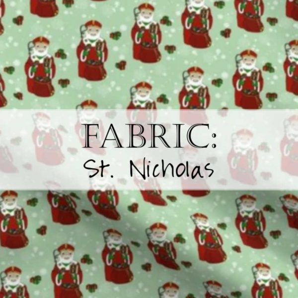 Saint Nicholas Fabric / St. Nick Yardage