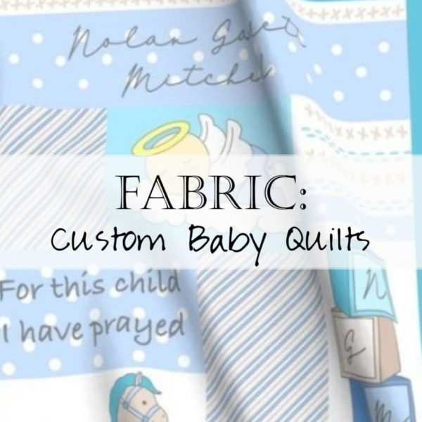 Sew a beautiful custom baby blanket quilt (in less than an hour) with this DIY kit!