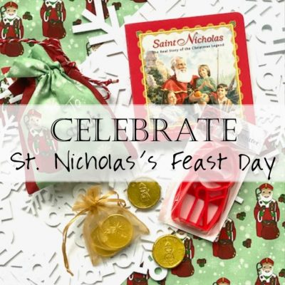 Living Liturgically: Celebrating St. Nick's Feast Day (ways to celebrate Saint Nicholas)