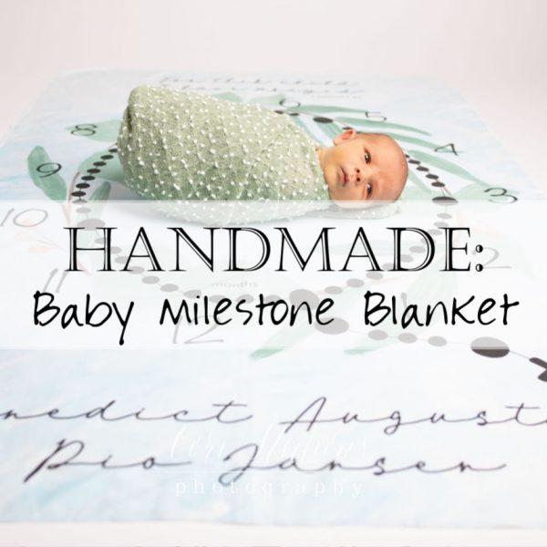 Catholic Rosary Milestone Baby Blanket 10