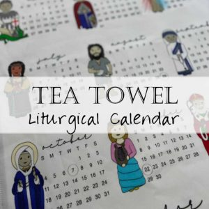 Tea Towel Tapestry Liturgical Calendar 2