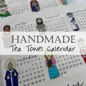Tea Towel Tapestry Liturgical Calendar