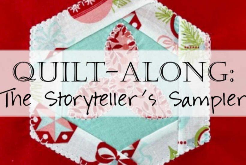 The Storyteller's Sampler Quilt Header