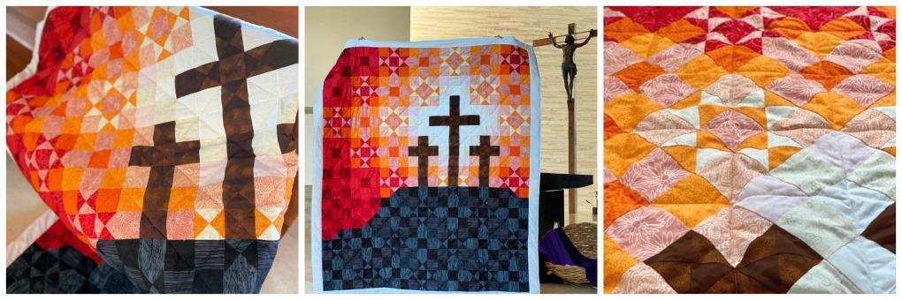 Lent Quilt Pattern FAF-127 Cross 13