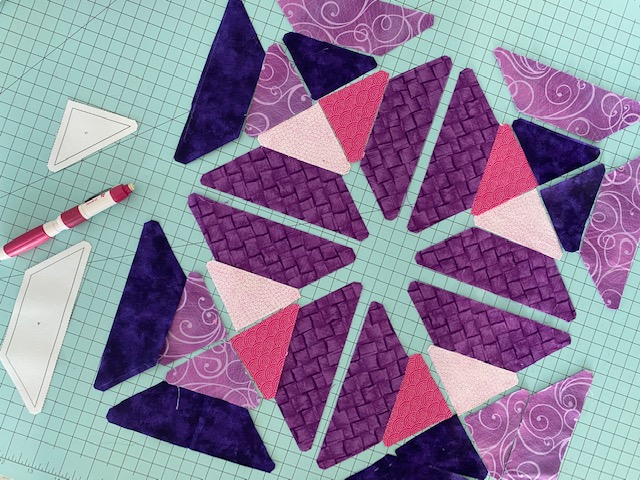 Lent Table Runner Quilt Tutorial C