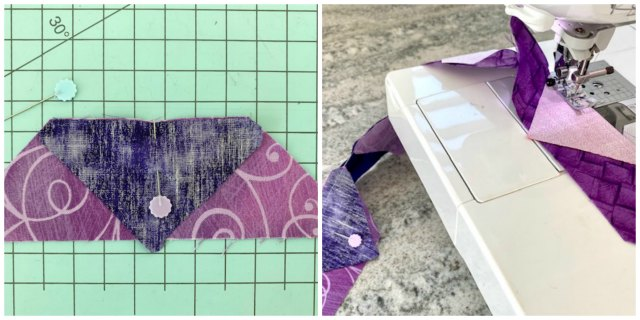 Lent Table Runner Quilt Tutorial DE