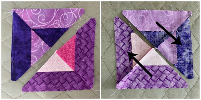 Lent Table Runner Quilt Tutorial IJ
