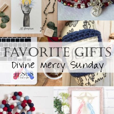 Divine Mercy Sunday: Shop Small with these Divine Mercy Gifts