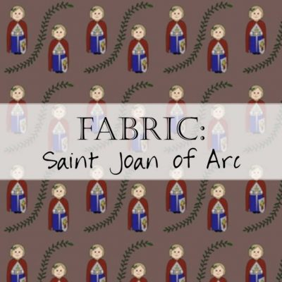 Fabric: Saint Joan of Arc / St. Joan of Arc