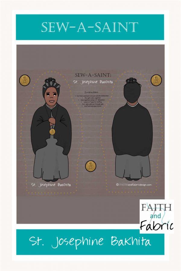 Saint Josephine Bakhita Sew a Saint Long