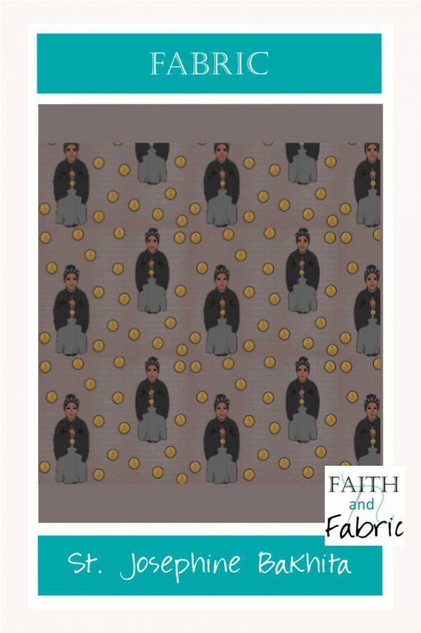 Saint Josephine Bakhita Fabric Yardage