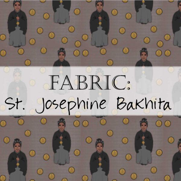 St. Josephine Bakhita Fabric Yardage
