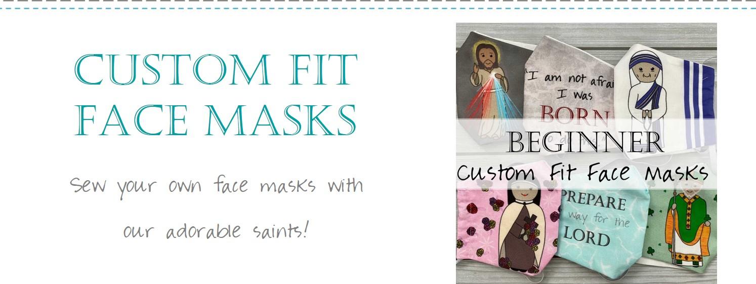 Custom Fit Catholic Face Masks Tutorial 0