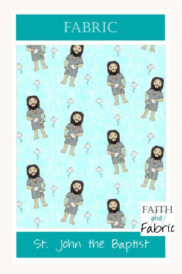 John the Baptist Fabric Yardage by the Yard
