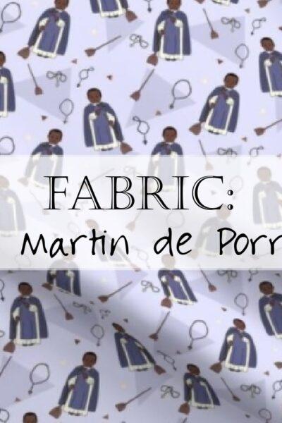 Saint Martin de Porres Fabric Header 2