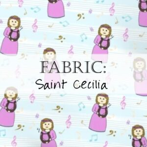 Saint Cecilia Fabric Yardage Header