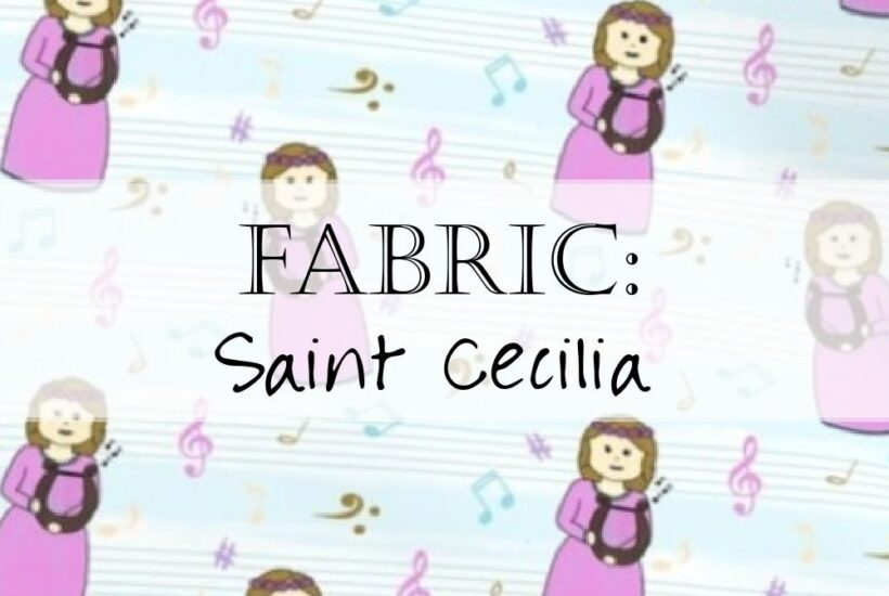 Saint Cecilia Fabric Yardage Header