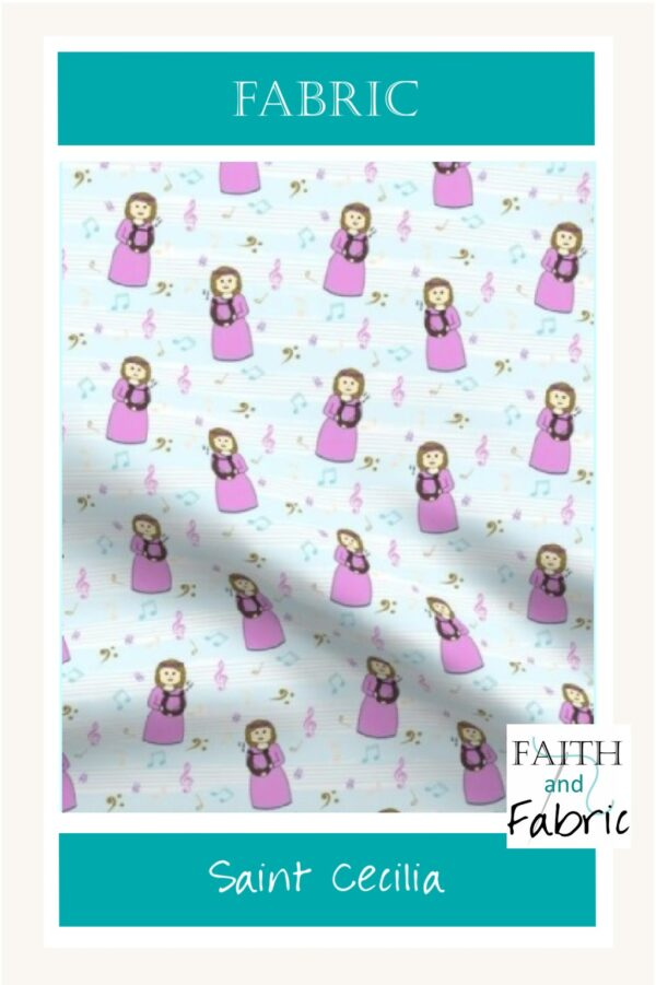 Saint Cecilia Fabric Yardage Vertical