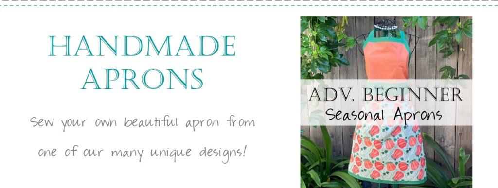 Seasonal Apron Pattern Fabric Step 0