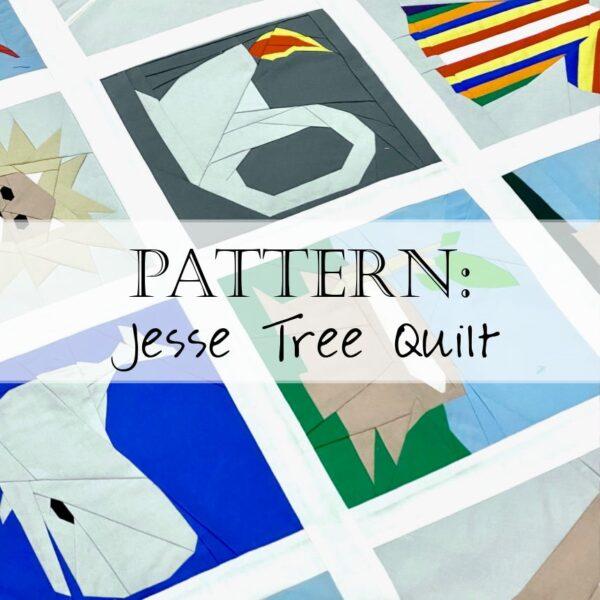 Jesse Tree Quilt Pattern Header