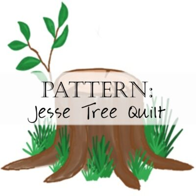 Jesse Tree Quilt Pattern Header