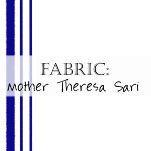 Mother Theresa Sari Robe Fabric