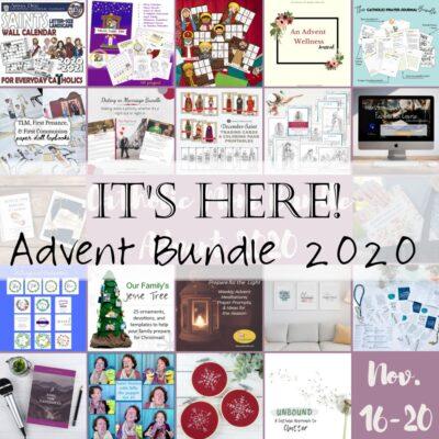 Living Liturgically this Advent: Catholic Mom Bundle 2020