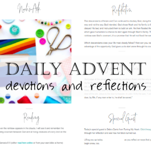 Advent Jesse Tree Devotions