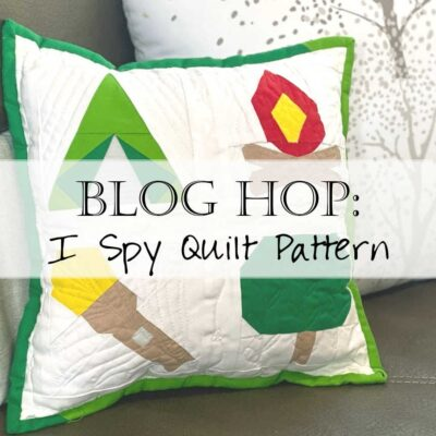 I Spy Quilt Pattern Header