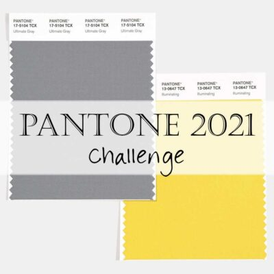 Pantone 2021 Artisan Challenge: January 1-29