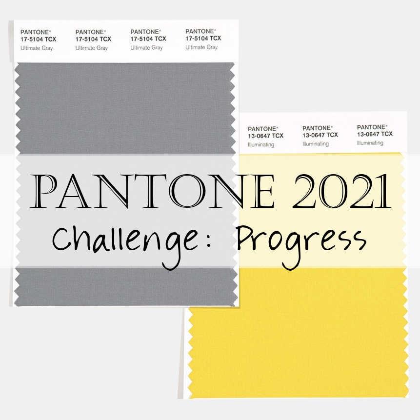 Pantone 2021 Challenge Progress