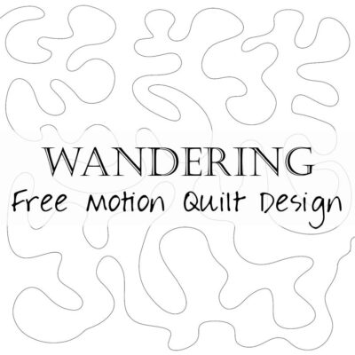 Free Motion Friday Quilt Design Wandering