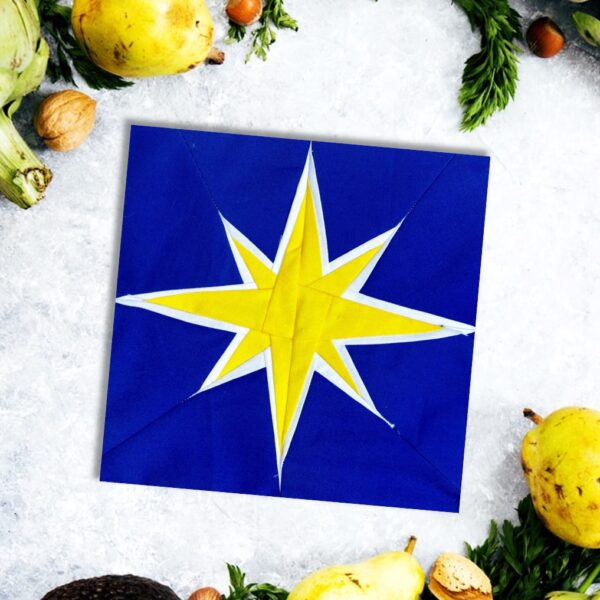 Star of Bethlehem Quilt Block Pattern
