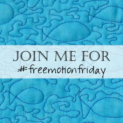 Welcome to Free Motion Friday!
