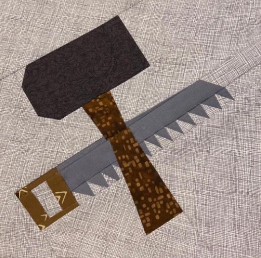 Joseph the Worker Quilt Block Pattern