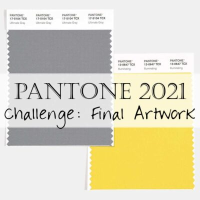 Pantone 2021 Artisan Challenge: Week 5 Link-Up (Finished Products)