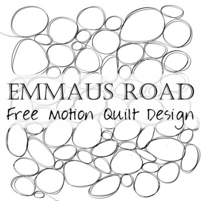 Free Motion Quilting Designs: Emmaus Road