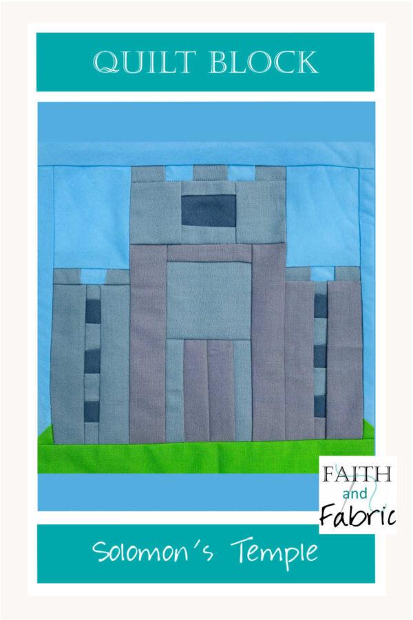 King Solomon's Temple Quilt Block