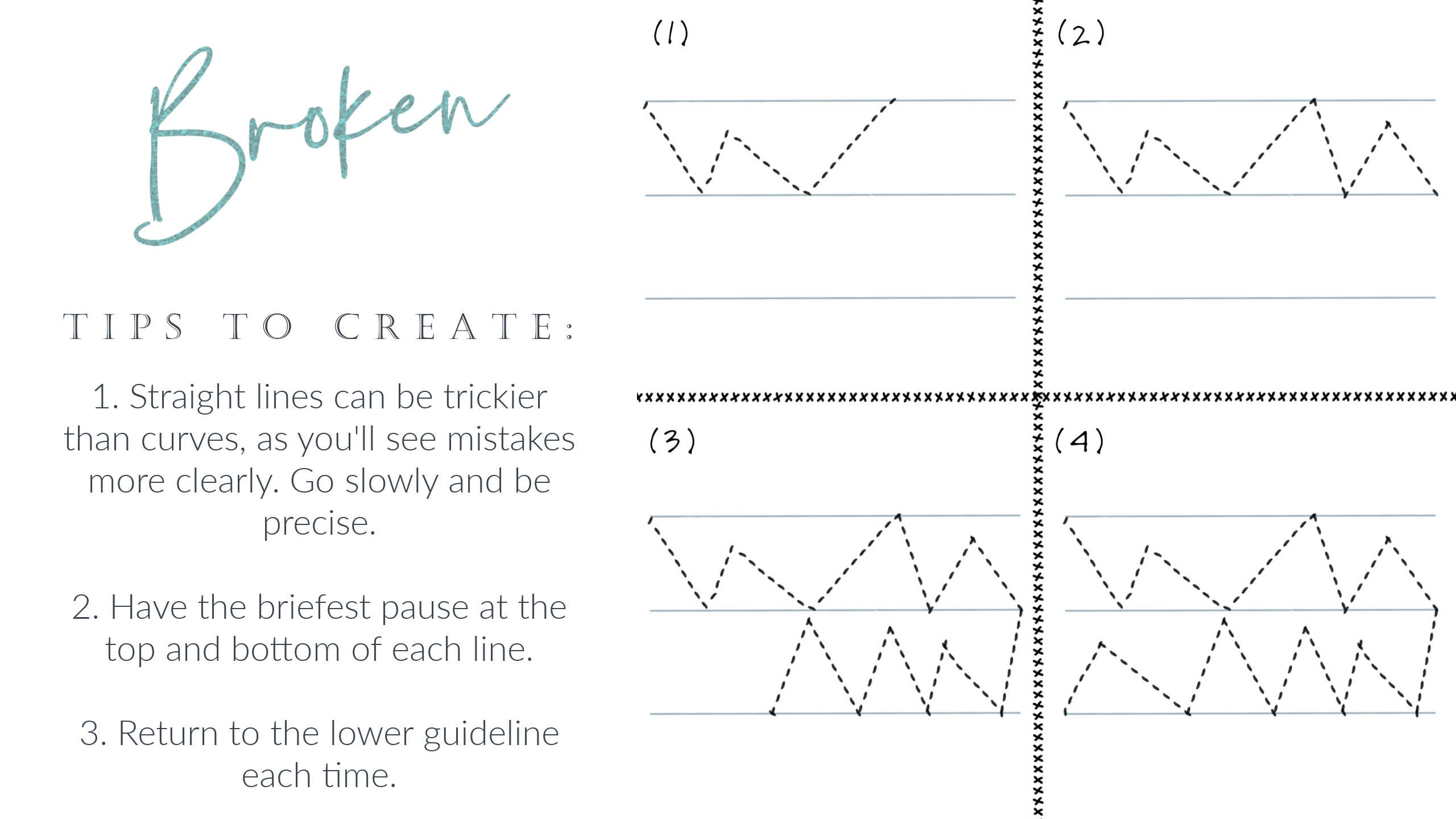 Let's break down the three key steps to creating zig-zag free motion quilting lines. We'll start at the beginning, from the basics like machine set-up and thread type, and move into the steps needed to create this free motion design. After watching the how-to video, you'll walk away comfortable to create this design on your own!