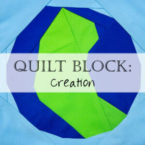 Quilt Block Pattern Earth Creation