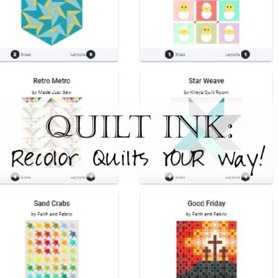 Blog Hop: QuiltInk