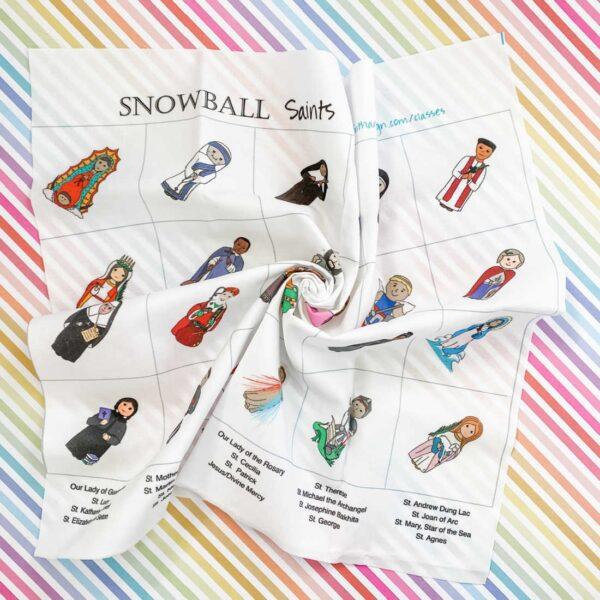 Snowball Saints Quilt Fabric Pattern