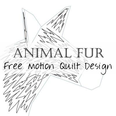 Free Motion Quilting Design: Animal Fur / Hair