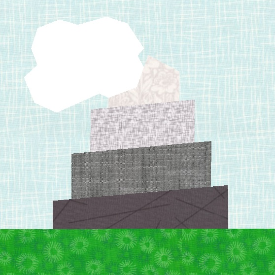 Create the Tower of Babel with this quilt block pattern!