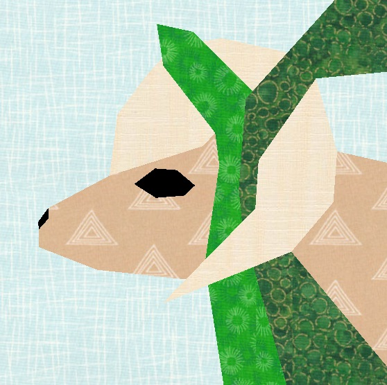Create the iconic moment that a ram was found in the brush, an offering to be made by Abraham, in this quilt block pattern!