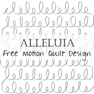 Free Motion Quilting Design: Allelulia / Loops