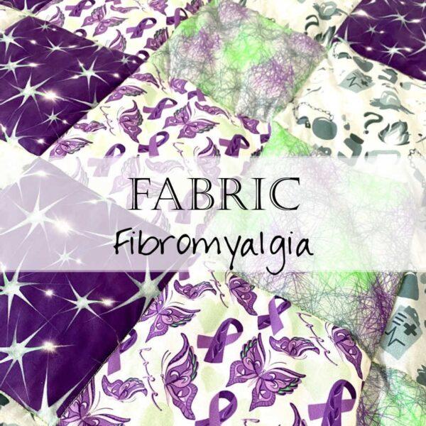 Fabric for Fibromyalgia Quilt Blanket
