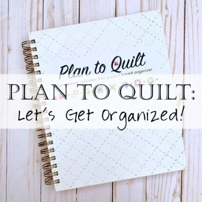 Plan to Quilt Book (and Review)