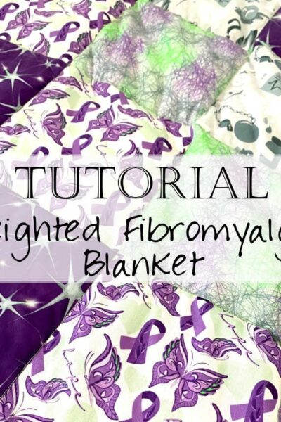 Learn how to sew a weighted blanket using fibromyalgia-inspired fabrics with this video tutorial!