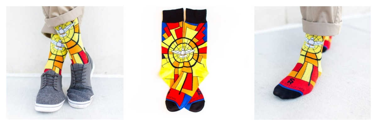 Ways to Celebrate Penetcost as a Family Socks